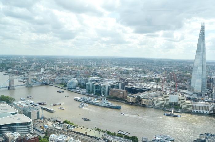 sky garden view london